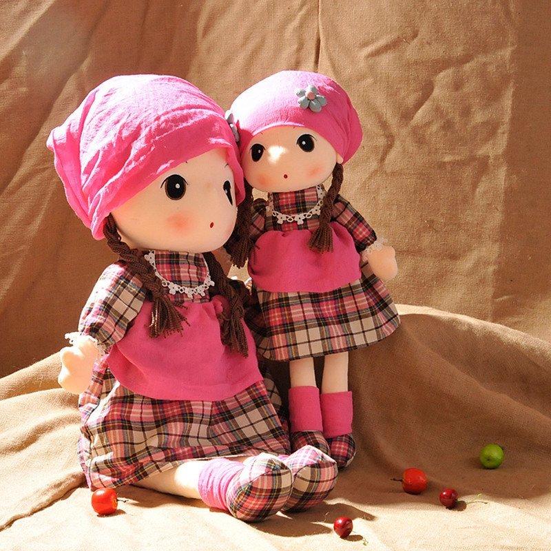 【绒言绒语系列】绒言绒语可爱格格菲儿布娃娃毛绒洋