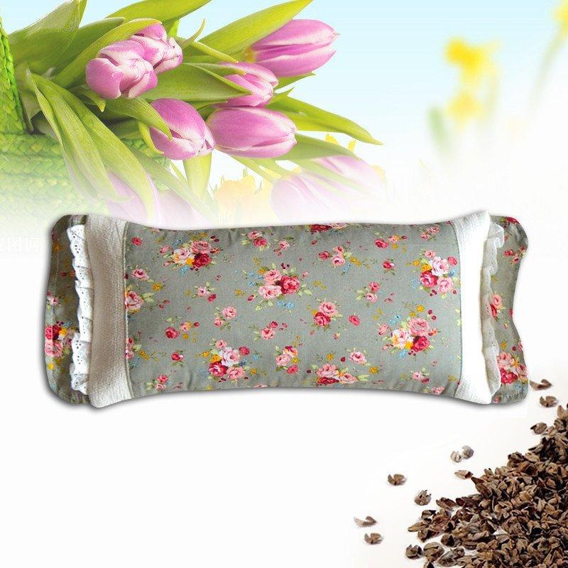碎花方形花边枕头