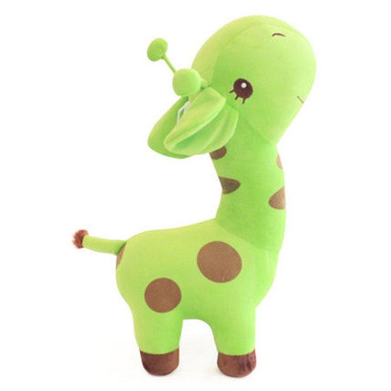 长颈鹿公仔 儿童毛绒玩具 小鹿卡通动物 七夕情人节礼物 代写卡片 43c