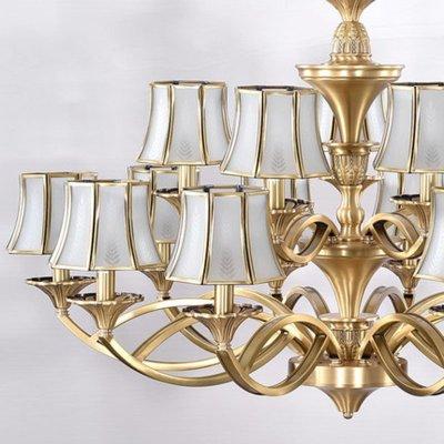 世源欧式吊灯欧式全铜吊灯全铜灯客厅餐厅卧室灯具灯饰7343图片