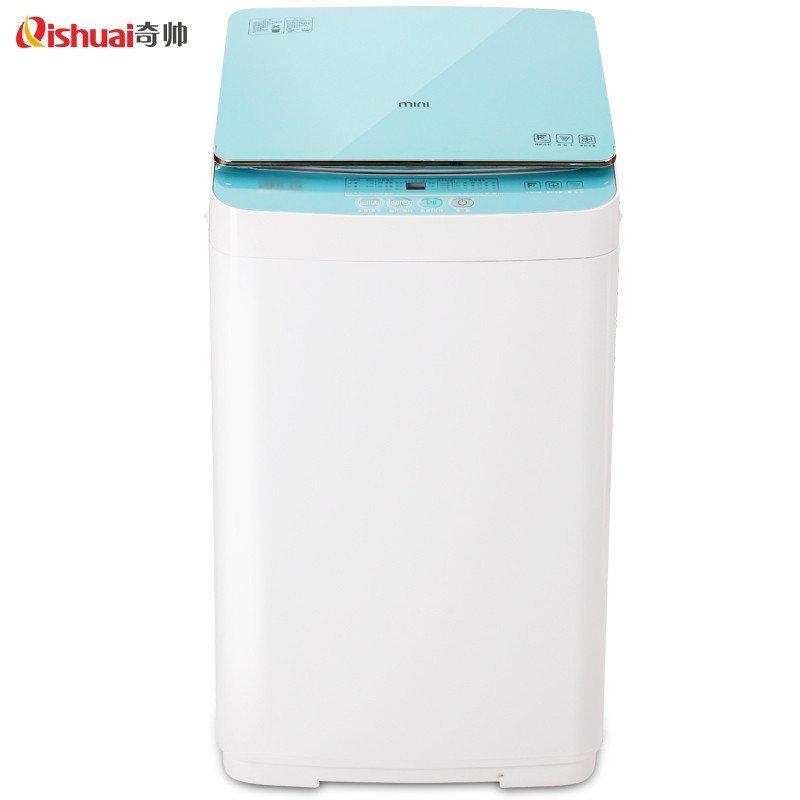 奇帅/Qishuai XQB50-188 5公斤全自动家用节能波轮洗衣机(星光蓝)