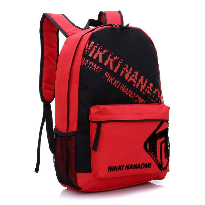 红客 新款中学生帆布双肩书包 男女运动背包旅行电脑包1037jinruid图片