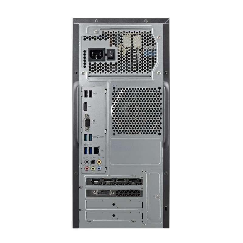 华硕台式电脑主机内部结构图