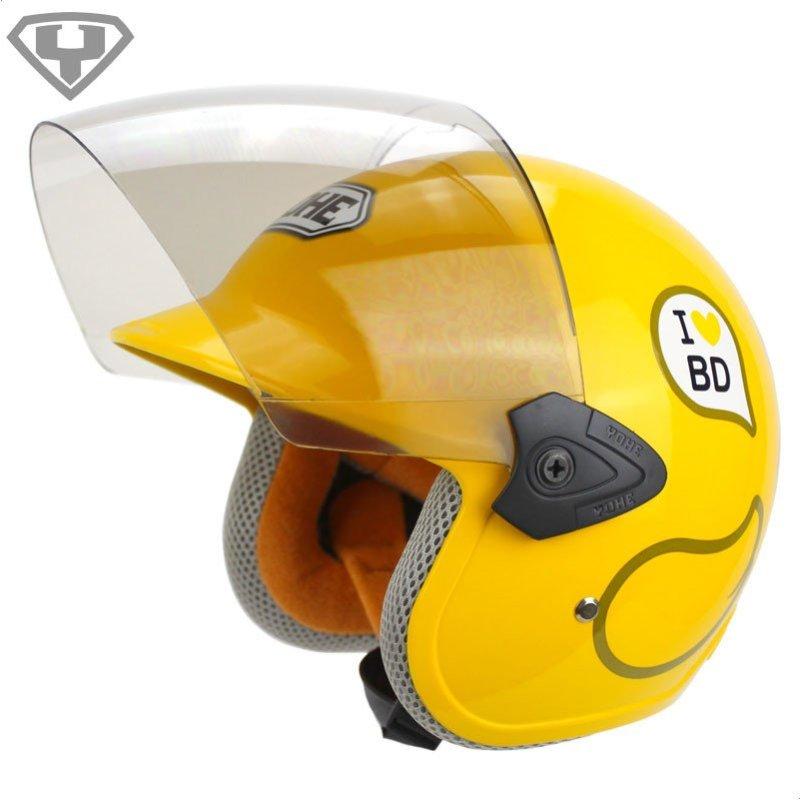永恒头盔 儿童摩托车头盔防晒夏盔 男女小孩电动车安全帽 859s
