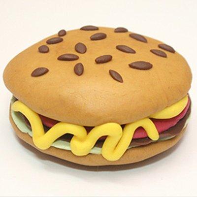 单人制作套装-汉堡包】皂美乐橡皮