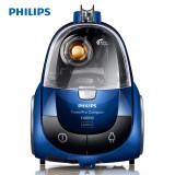 飛利浦(Philips) 家用超靜音大功率強力無塵袋臥式吸塵器FC8470 藍色