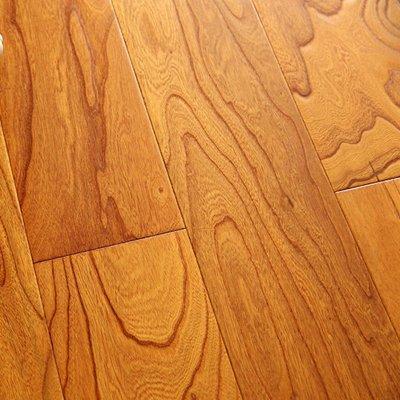 首佳地板 多层实木复合木地板15mm地热榆木浮雕复古