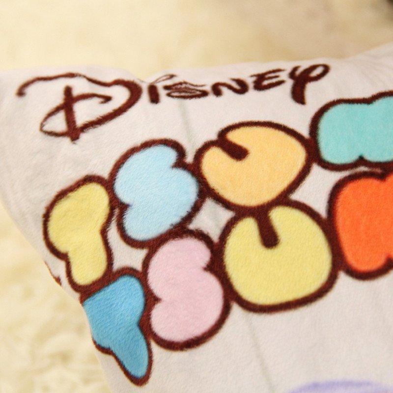 正版迪士尼可爱卡通毛绒玩具长抱枕儿童睡觉抱枕靠垫