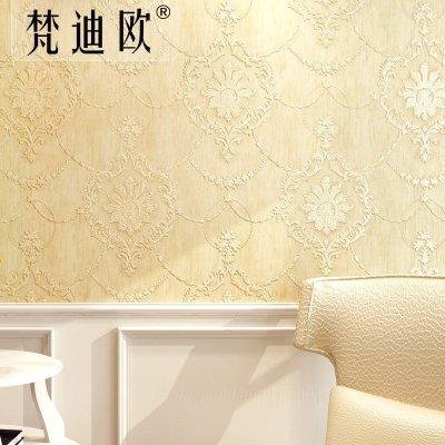 欧式壁纸无纺布墙纸卧室客厅电视背景墙壁纸
