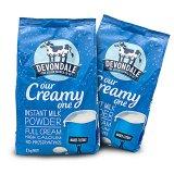 2袋裝 澳洲德運 (DEVONDALE) 高鈣全脂 兒童學生成人牛奶粉 *2 每袋1kg 2袋裝/組 2kg