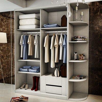 1米7衣柜内部设计图纸图片