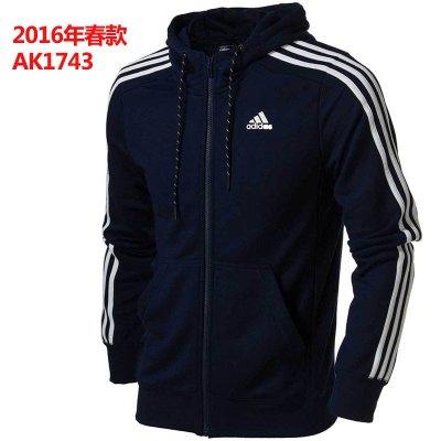 adidas阿迪达斯外套男装2016春新款运动服防风夹克ak1749 ak1743-zt l