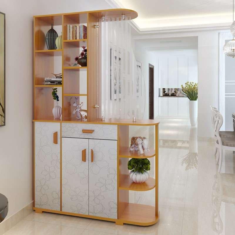 玄关柜 简约现代酒柜 超薄欧式鞋柜 简易玄关柜 客厅隔断柜 双面设计图片