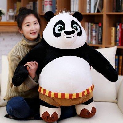 正版功夫熊猫3 站姿阿宝毛绒玩具