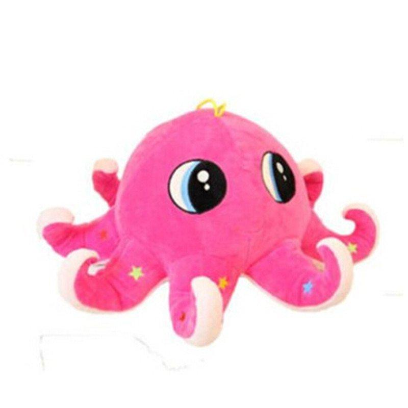 男女圣诞礼物可爱八爪章鱼乌贼毛绒玩具布娃娃公仔玩偶布偶生日礼物