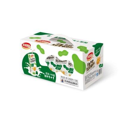 达利园 花生牛奶饮品 核桃味 250ml*12盒