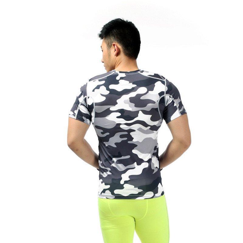 户外运动骑行服定制 男士短袖速干t恤弹力紧身衣高清实拍图