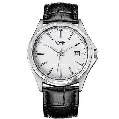 卡西欧男士手表 简约休闲石英男腕表