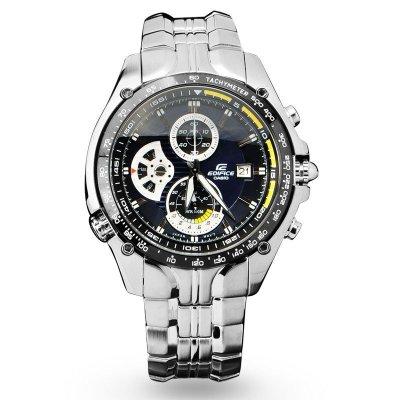 卡西欧CASIO手表 EF系列时尚运动钢带石英男士手表