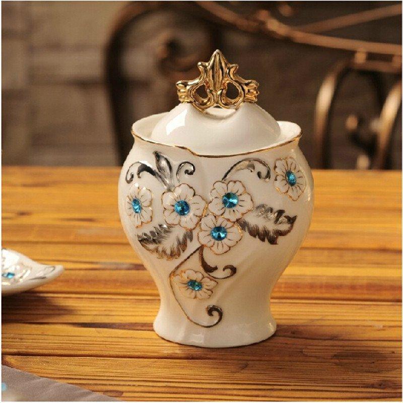 欧式高档茶具套装英式创意陶瓷下午茶花茶咖啡具骨瓷茶壶茶杯整套图片