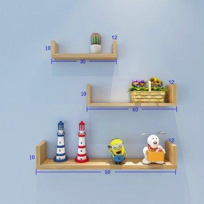 定制一字板创意书架木板