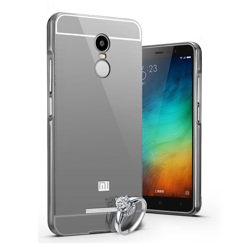 红米note3手机壳 小米红米note3手机保护套 金属边框式后盖外壳防摔壳
