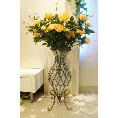 欧式现代简约落地花瓶客厅电视柜摆件