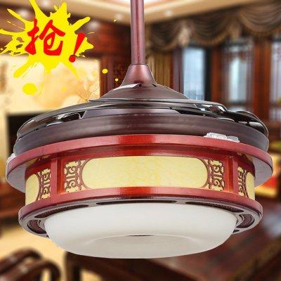 松旗电风扇灯欧式吊扇灯客厅灯卧室灯餐厅灯美式吊灯