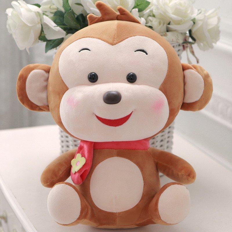 悦达 猴子毛绒玩具公仔可爱儿童布娃娃小猴子玩偶抱枕礼物女生生日
