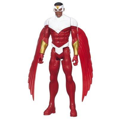 孩之宝 Hasbro 漫威 复仇者联盟 美国队长英雄系列 儿童益智模型玩具 人物公仔 猎鹰 B1668