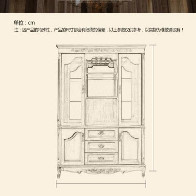 现代简约整体原木衣柜 欧式衣柜订制 原木衣橱衣帽间定做 巧克力色
