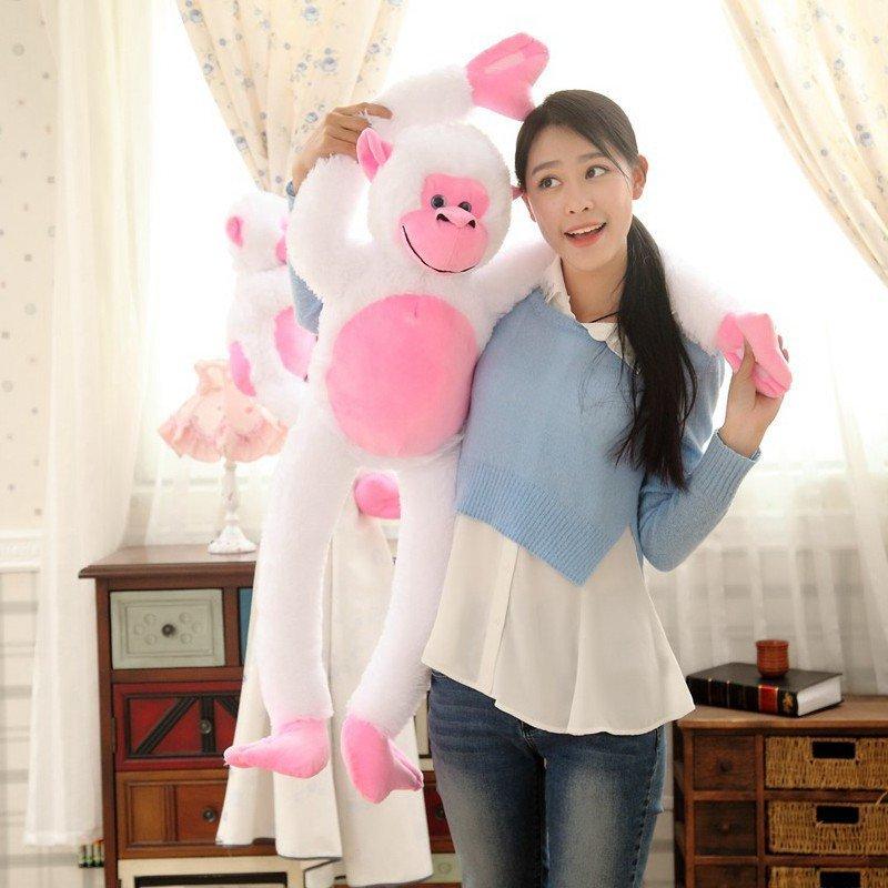 朵啦啦 长臂猴猩猩公仔 毛绒玩具大号布娃娃玩偶 生日礼物 女生 代写