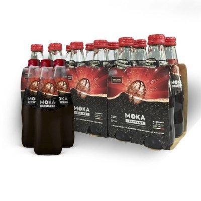 MOKA INSTINCT 摩卡咖啡味碳酸饮料 250ml*12瓶