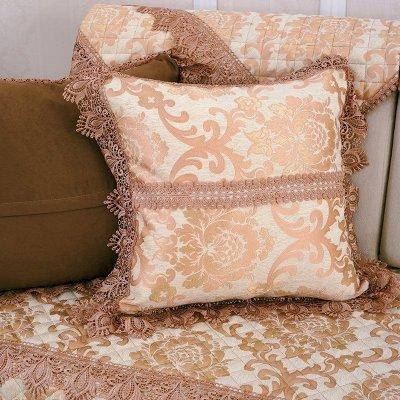 欧式沙发垫布艺坐垫简约现代木沙发巾沙发套