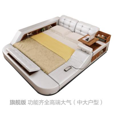 佐特榻榻米床/1.8米储物床/带按摩躺椅!