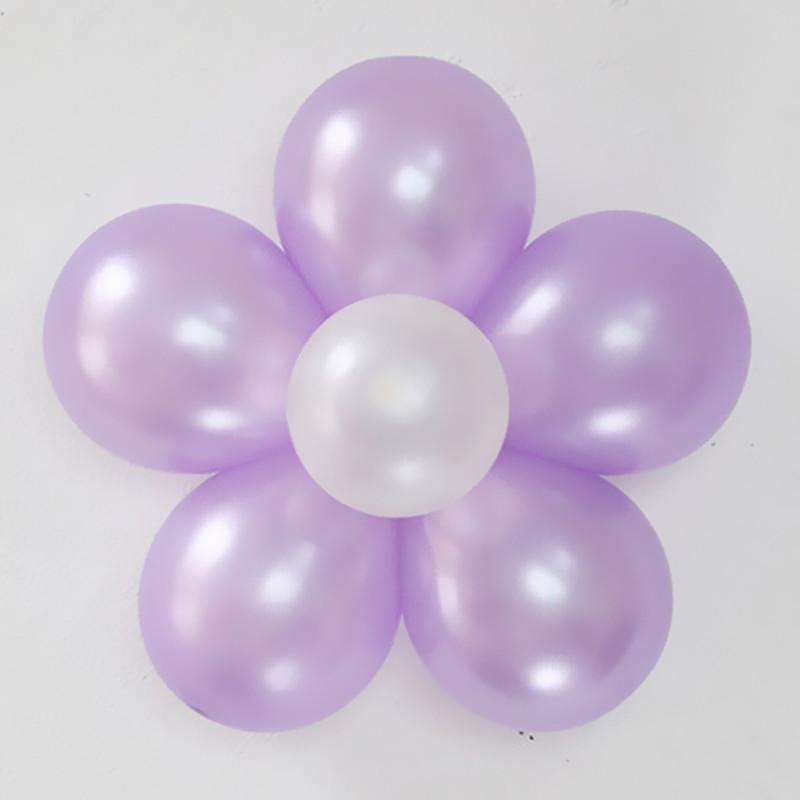 吟秀 婚房布置装饰 气球花 婚庆用品 生日结婚气球 造型套餐梅花扣