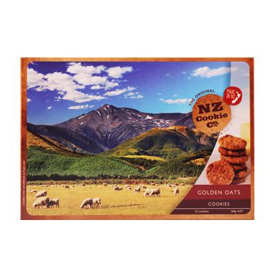 新西兰进口 NZ金色燕麦曲奇饼干 168g/罐