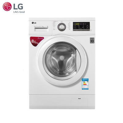 LG WD-AH455D0 8公斤 DD变频 滚筒 洗烘一体洗衣机
