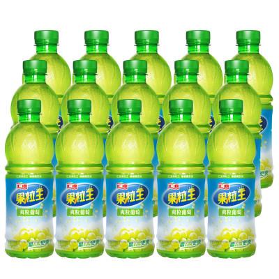 汇源 果粒王 爽粒葡萄 含芦荟颗粒 500ml*15瓶