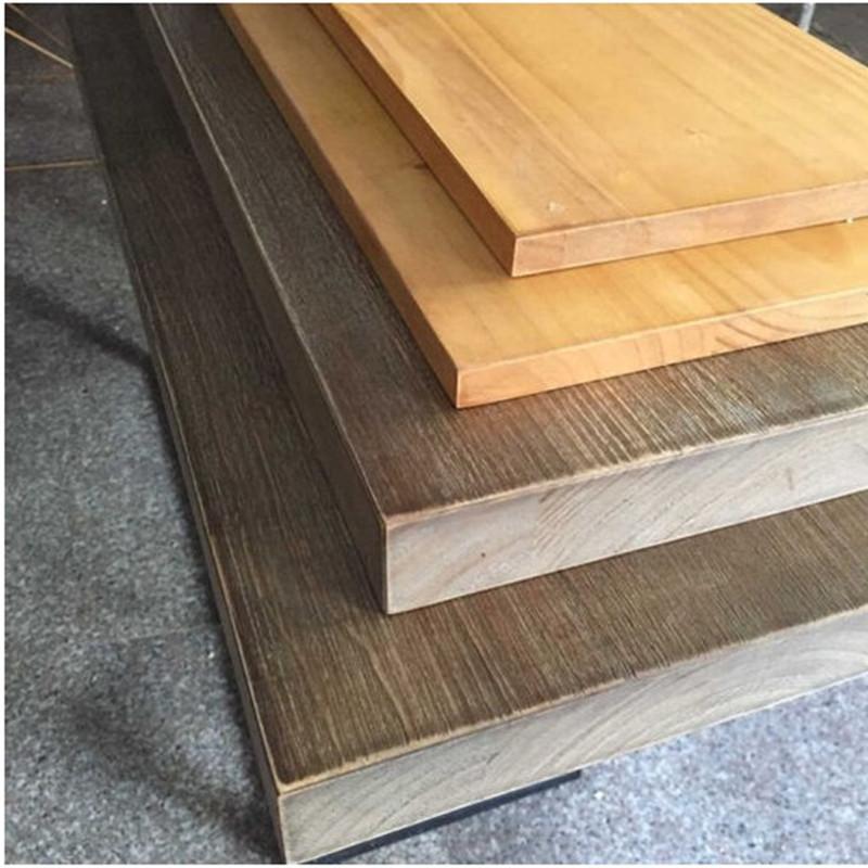 实木板隔板老松木板老榆木原木板吧台板搁板办公桌面板 不同尺寸不同