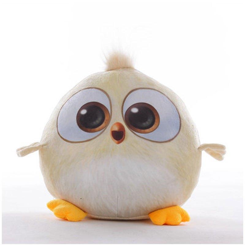 小孩子玩具愤怒的可爱卡通小鸟公仔抱枕大电影同款毛绒玩具娃娃六一