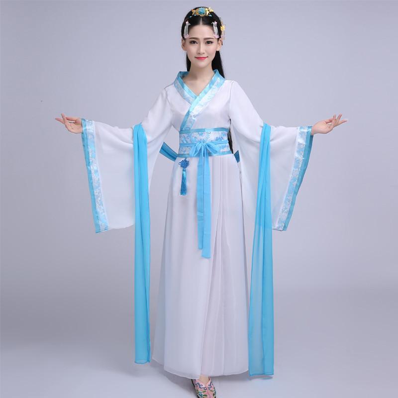 古装服装仙女 演出服七仙女古装汉服女装 唐装汉服服装1 s 粉色