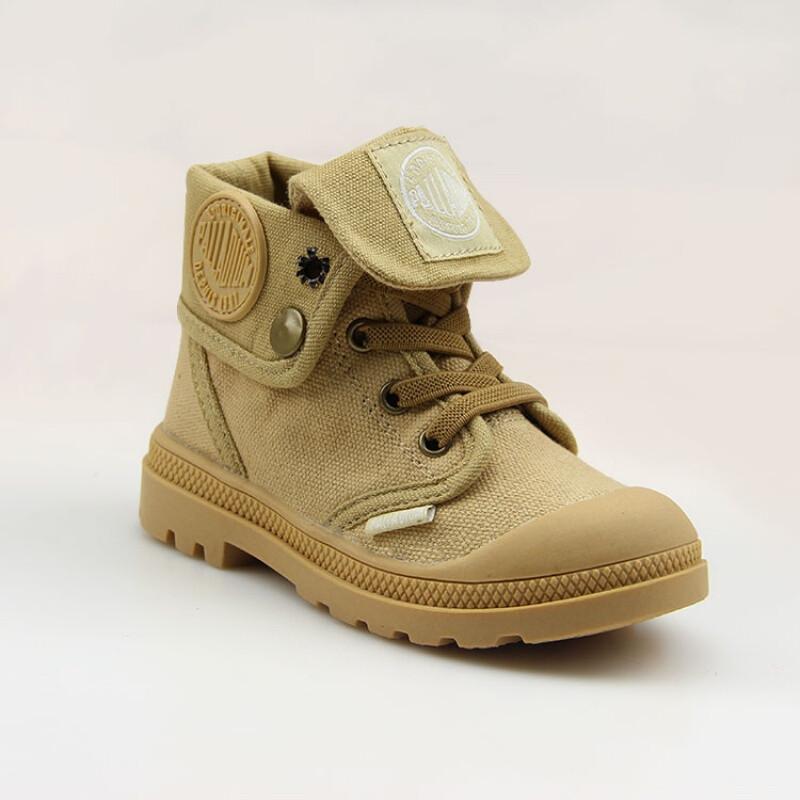 opzcpalladium帕拉丁童鞋高帮帆布鞋男童女童鞋儿童布鞋马丁靴休闲鞋