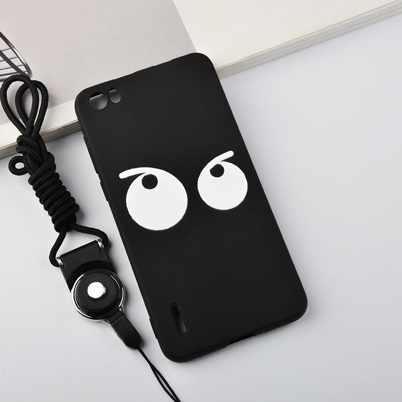款荣耀华为表情包图片老虎惊讶6手机壳h60-l01保护套软男女潮硅胶图片