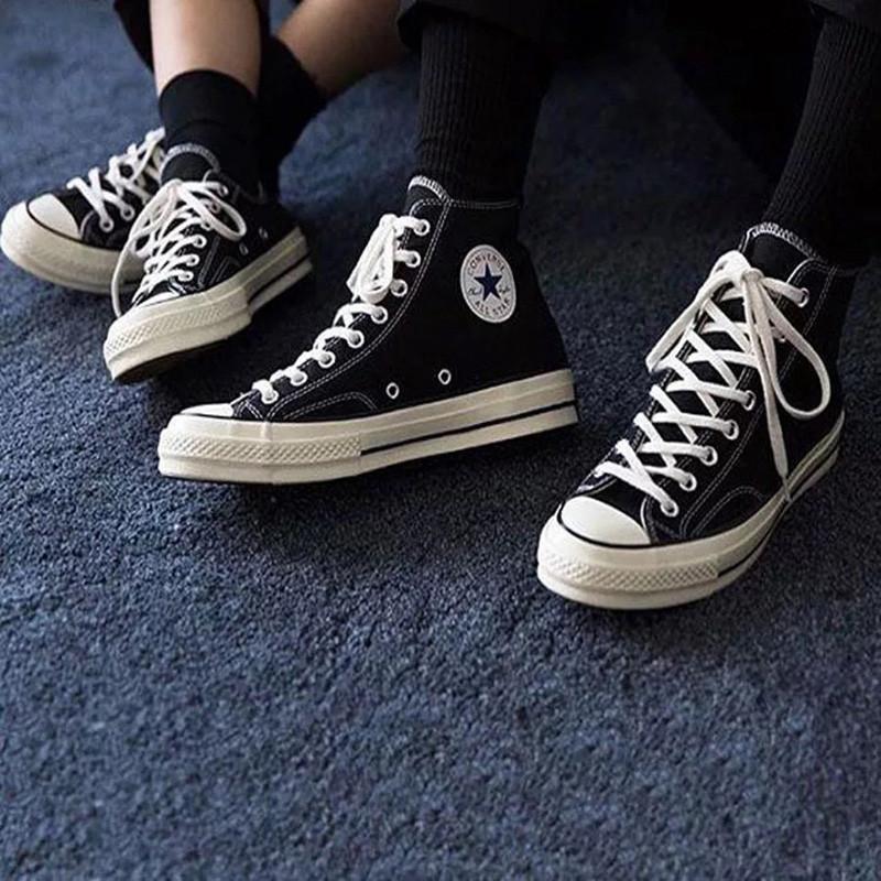 converse/匡威 男鞋女鞋 2017新款帆布鞋all star 1970s三星标高帮