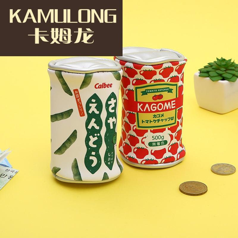 kamulong韩国手拿零钱包女迷你硬币包儿童零食零钱包可爱个性创意小钱