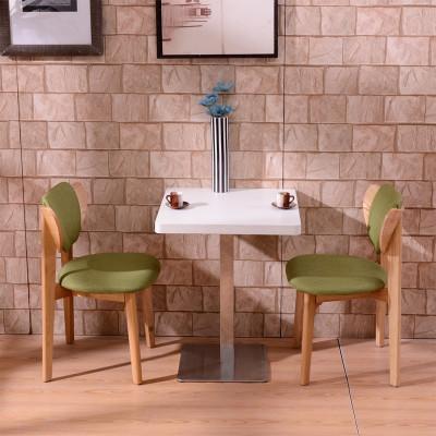 桌椅餐饮桌椅快餐店桌椅奶茶店桌椅咖啡厅茶餐厅西餐家具 原木圆桌