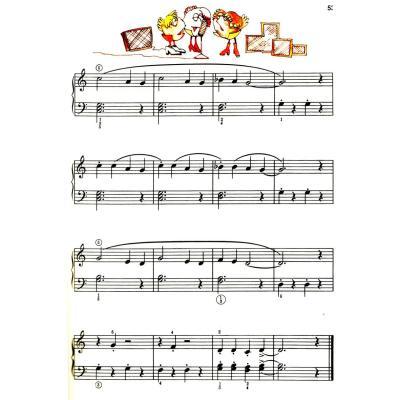 巴斯蒂安钢琴教程(2)(共5册)(附dvd一张)图片