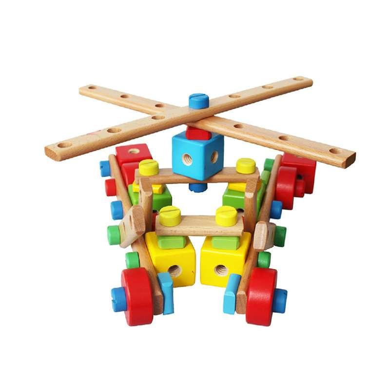 丹妮奇特超级螺母木质拼插积木cdn-288