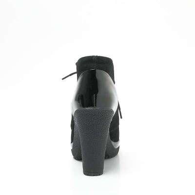 漆皮女皮鞋d23307
